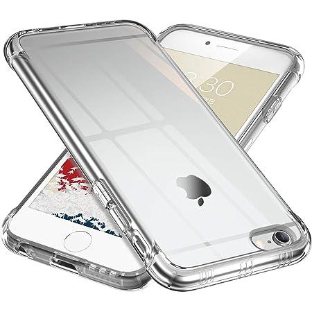 ONES 高透明 iPhone 6sPlus 6Plus ケース 耐衝撃 超軍用規格 『エアバッグ、半密閉音室、ストラップホール』〔滑り止め、すり傷防止、柔軟〕〔美しい、光沢感、軽·薄〕 衝撃吸収 HQ·TPU クリア カバー