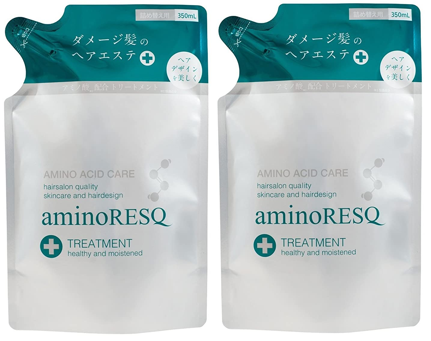 退化する独裁者暖かさ【2個セット】aminoRESQ アミノレスキュー トリートメント詰替