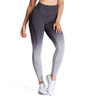 Aoxjox Women's Seamless Leggings Super Control High Waist Workout Yoga Pants Gym Tights