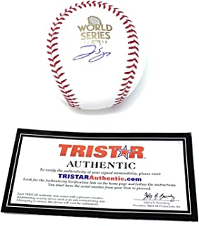 George Springer Houston Astros Signed Autograph Official MLB World Series Baseball Tristar Authentic Certified