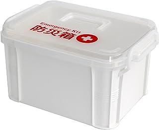 不動技研 収納ケース 防災箱 ホワイト F2599