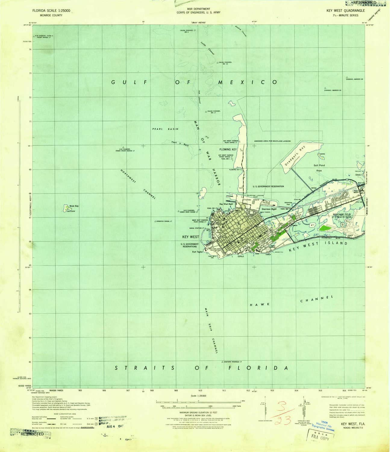 1:31680 Scale YellowMaps Central Square NY topo map Historical 1943 21.9 x 16.9 in 7.5 X 7.5 Minute