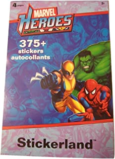 Sandylion Marvel Heroes Stickerland