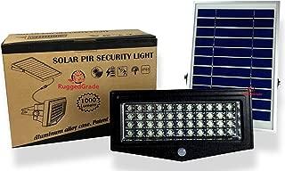 High Power 1000 Lumen Solar Motion LED Flood Light – 10 watts of High Power Light – Commercial Grade Flood Light – Adjustable Mount – Solar LED Floodlight – 8000mAh Rechargeable Battery - 4 Modes