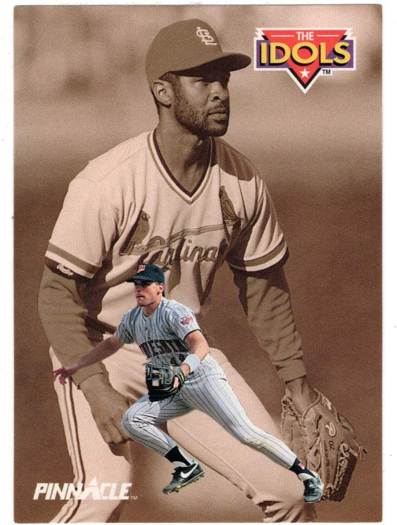 Chuck Large special price !! Knoblauch - Ozzie Smith 1992 Card Score Baseball Bombing new work Pinnacl