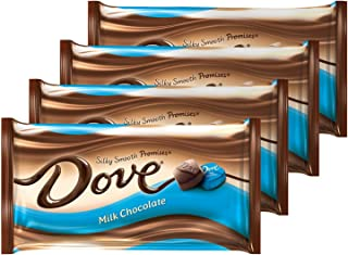 DOVE PROMISES Milk Chocolate Candy 8.87-Ounce Bag (Pack of 4)