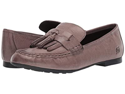 Born Charen (Grey Full Grain Leather) Women