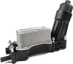 ACauto 68105583AF Oil Filter Adapter Housing Assembly Fits 14-18 Jeep Dodge Ram 14-17 Chrysler 3.6L V6 Engine