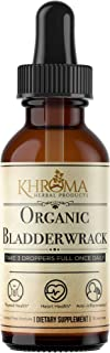 Organic Bladderwrack - 2 oz Liquid in a Glass Bottle - 30 Servings - by Khroma Herbal Products