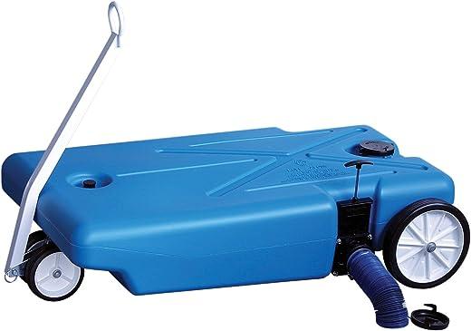Barker 4-Wheeler Tote Tank - 32 Gallon Capacity (27844) , Blue