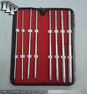 Pratt Dilator Set of 8 Piece Straight
