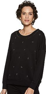 House of Pret Women's Blouson Sweatshirt (Pirate Black, Small)
