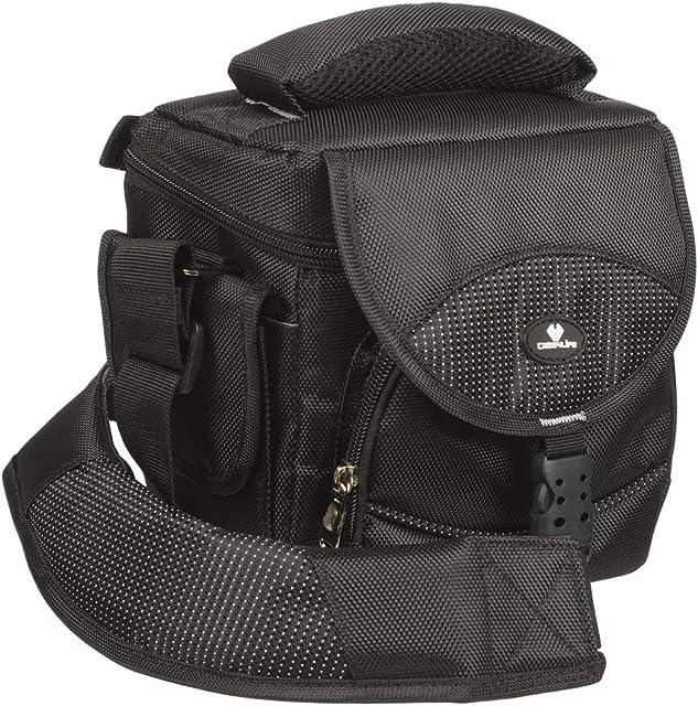 Case4Life Compacto Pro Serie Cámara reflex bolsa funda + Cubierta de lluvia para Nikon SLR D Serie - D3200 D3300 D3400 D4 D40 D5 D500 D5100 D5200 D5300 D5500 D700 D750 D7100 D7200 D800 D810 D810A B500