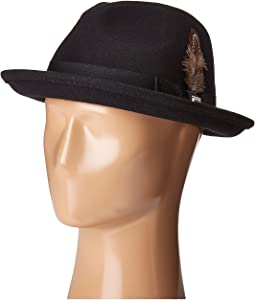 Fedora with Matching Trim