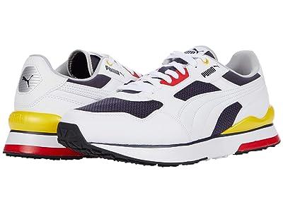 PUMA R78 FUTR (Puma White/Puma White/Puma New Navy) Shoes