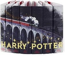 Juniper Books Harry Potter Hogwarts Express Custom DUST Jackets ONLY (Books Not Included) | for Your Seven-Volume Hardcover Book Set