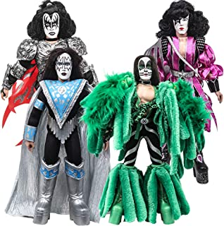 Figures Toy Company KISS 8 Inch Action Figures Series 8 Dynasty: Set of All 4 [Loose]