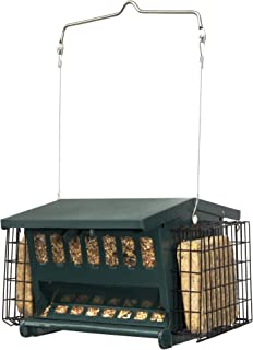 Cherry Valley Feeder Hopper Feeder with Suet Cages