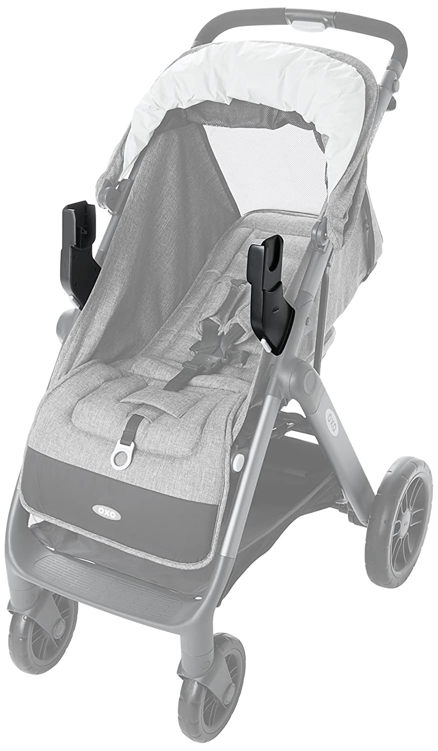 OXO Tot Cubby Stroller Car Seat Adaptor Compatible with Maxi Cosi/Nuna/Cybex