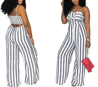 Women Jumpsuit Stripe Romper Womens Jumpsuit Bodysuit Streetwear Outfit Clothes