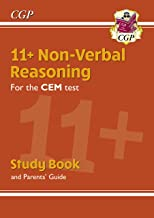 New 11+ CEM Non-Verbal Reasoning Study Book (with Parents' Guide) (CGP 11+ CEM)