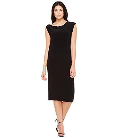 KAMALIKULTURE by Norma Kamali Drop Shoulder Dress (Black) Women