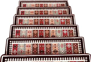 JIAJUAN Stair Carpet Treads Rectangle Rugs Stairs Tread Mats Indoor Modern, 2 Colors, 2 Sizes, Customizable (Color : A-1 p...
