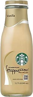 Starbucks - RTD Coffee Frappuccino Drink 13.7oz Bottles Pack, Vanilla, 12 Count