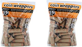 Coin-Tainer Quarter Coin Wrappers, Pack of 72