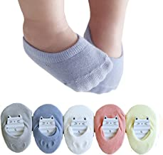 Baby No Show Anti Slip Socks Toddler Cotton Low Cut Floor Socks for 0-4Y Child