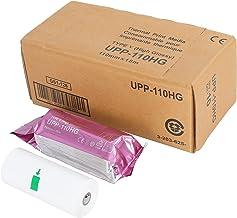 فیلم کاغذی اولتراسونیک براق UPP-110HG/رسانه 10 رول/bx ، جایگزینی برای Sony Upp-110HG ، 110 میلی متر در 18 متر