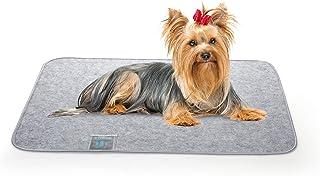 Luxear Koc dla psa, wielokrotnego użytku, mata dla psów z kartą kontrolną wilgotności, nadaje się do prania, antypoślizgow...