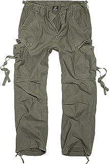 Brandit M65 Vintage da Uomo Pantaloni Cargo