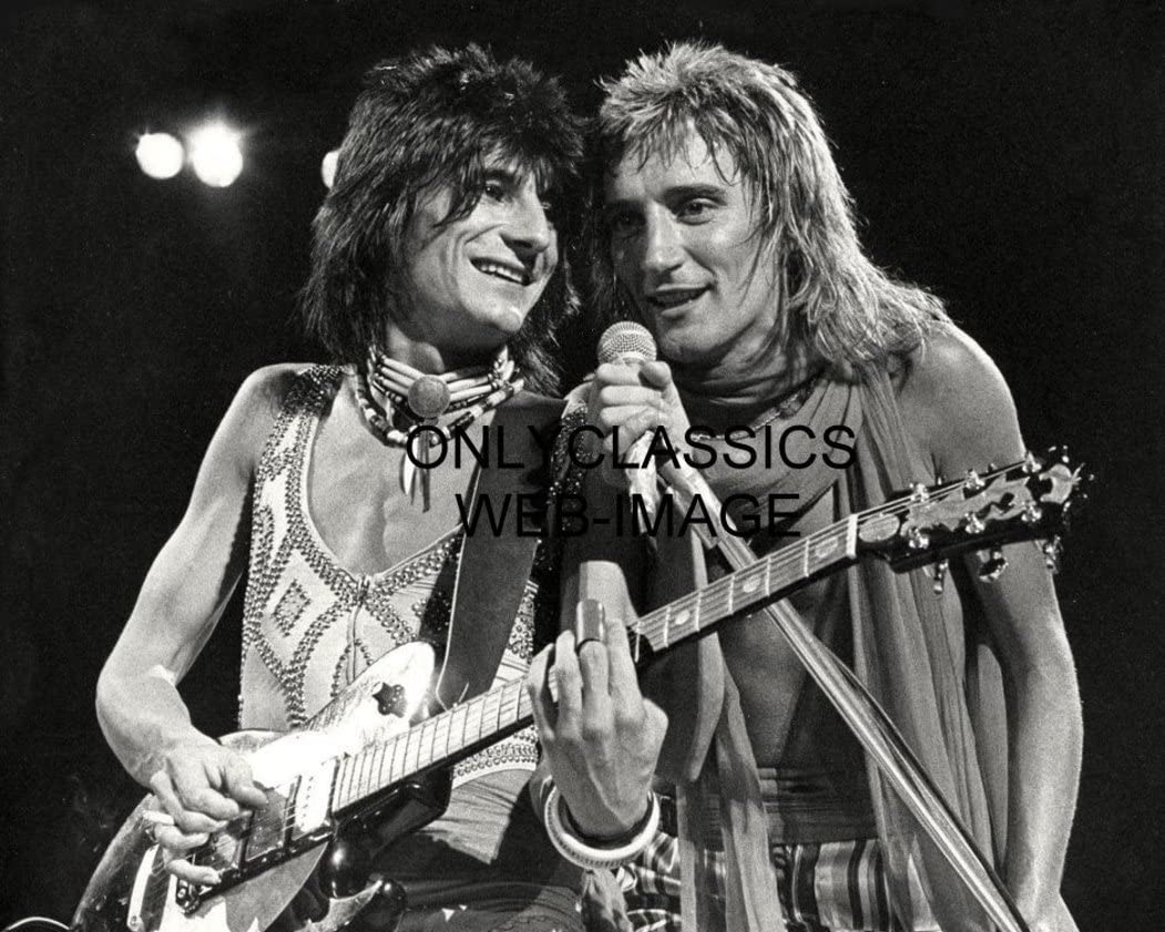 OnlyClassics 1970 Rock Legends Rod Stewart Wood Cheap bargain of Ron Faces The Choice