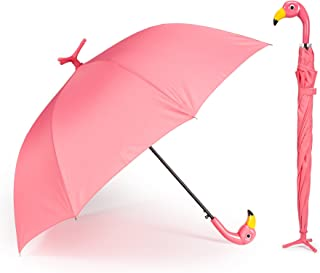 Abbott Collection 27 UMB Flamingo Stick Umbrella-40 W, Pink