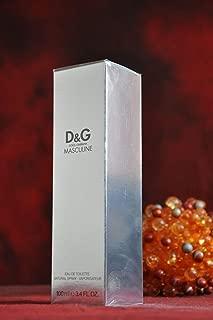 Dolce & Gabbana MASCULINE EDT 3.4 Fl. Oz / 100ml