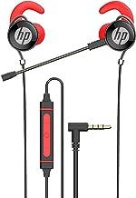 HP Fones de ouvido para jogos PS4 com microfone, fones de ouvido estéreo graves com microfone duplo removível e controle d...