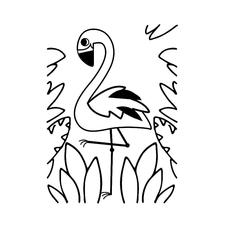 Darice 30041365 Embossing Folder, Tropical Flamingo, 4.25 x 5.75 Inches
