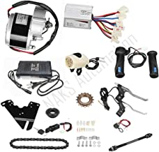 """Naks 24v 350watt Motor Controller Kit with Charger for Electric Conversation of 22""""-28"""" Regular Bicycle"""
