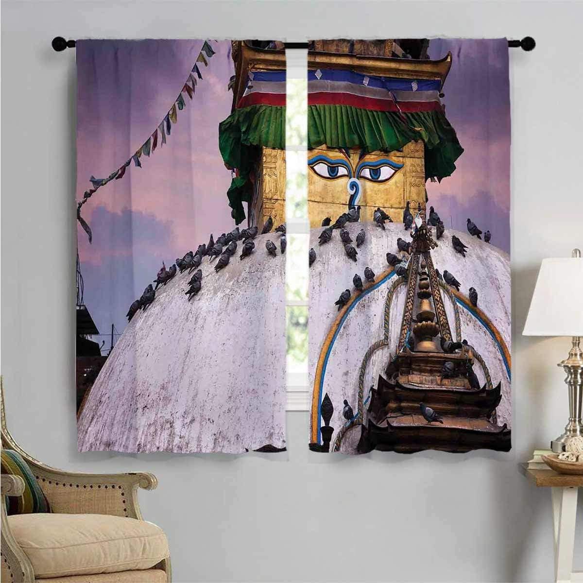 Blackout Max 63% OFF Window Curtain Kathesimbhu Stupa Thamel Decor Max 74% OFF
