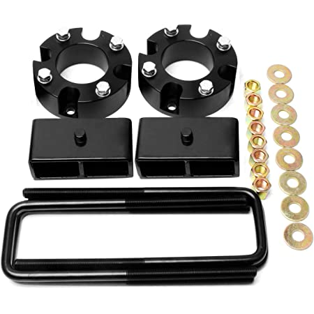 ZY WHEEL 3'' Front and 2'' Rear Leveling Lift Kit Compatible for 2007-2019 Toyota Tundra 2WD 4WD