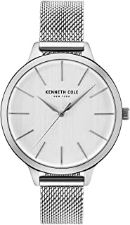 Kenneth Cole New York Women's 'Classic' Quartz Stainless Steel and Leather Dress Watch