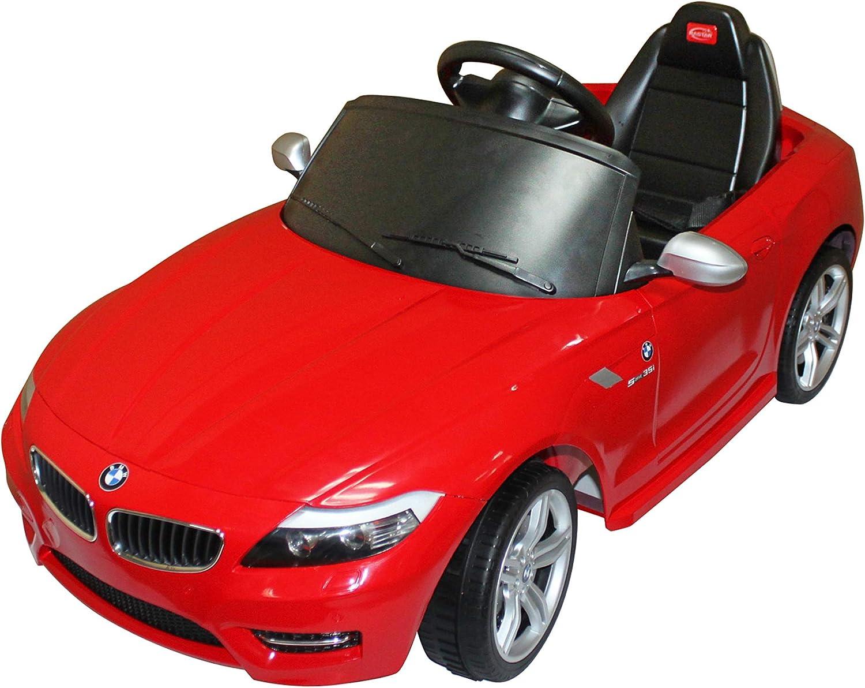 minoristas en línea Mini Coche Eléctrico Bateria 6V para Niños 3 3 3 años BMW con MP3 CLaxon Faros Llaves y Control Remoto para Padres  oferta de tienda