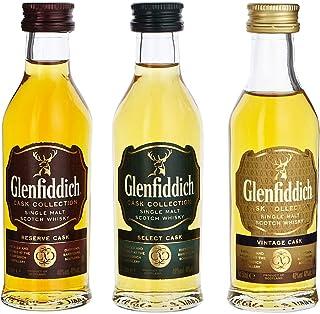 Glenfiddich Cask Colletction Miniatures 3x0,05L 1 x 0.15 l