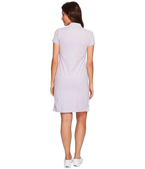 ASSN Printed Polo Stretch S U Pique Dress POLO fTWqZnnx4w