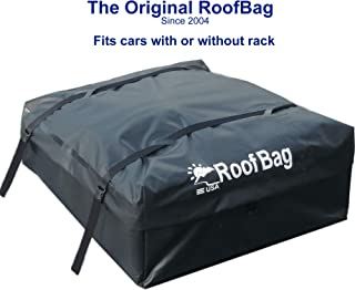 RoofBag Rooftop Cargo Carrier Bag | Made in USA | 15 cu ft |Standard Waterproof Luggage..