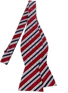 regimental stripe bow ties