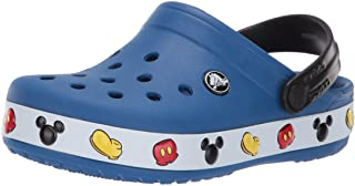 Crocs Kids' Boys and Girls Crocband Disney Mickey Mouse Clog