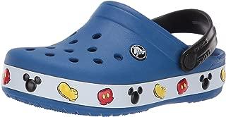 Crocs Kids' Boys and Girls Crocband Disney Mickey Mouse Clog