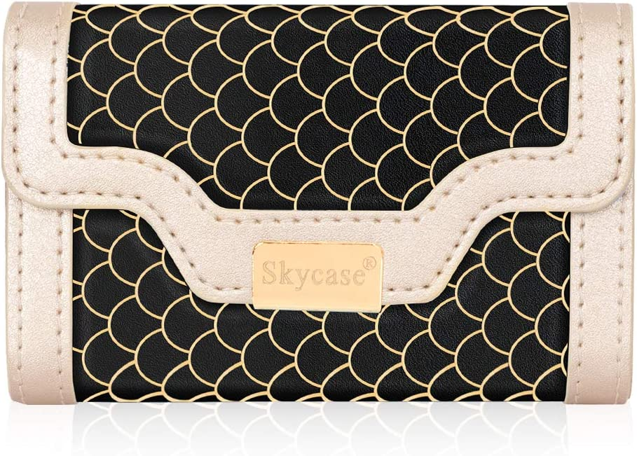 Oakland Mall Skycase Business Ranking TOP18 Card Holder for Women C Leather Men